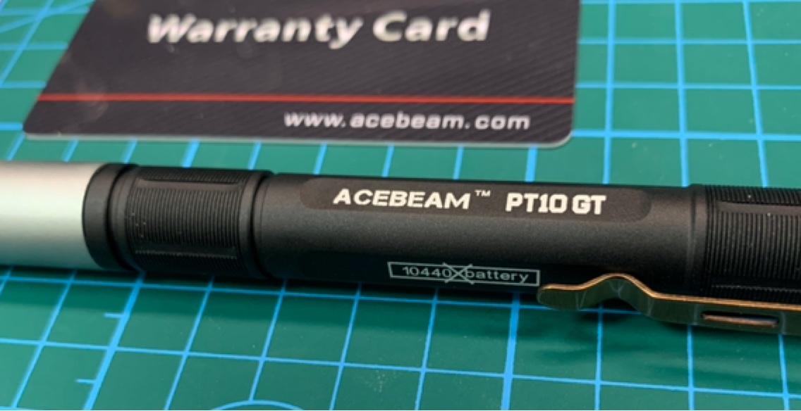工作笔灯新高度——ACEBEAM PT10GT开箱简评