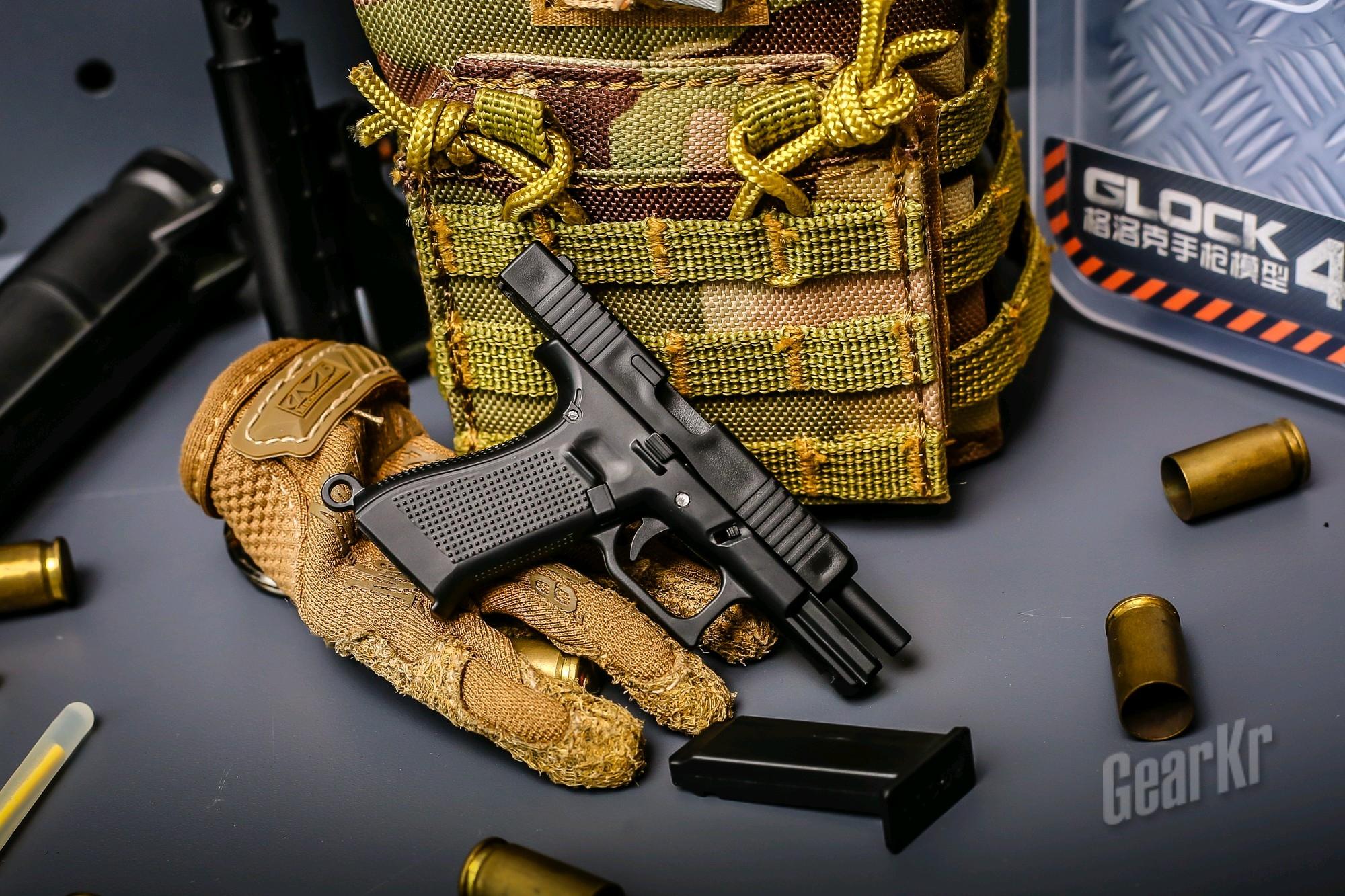 解压,多动症患者福音——黑枪HEYGUN格洛克45模型