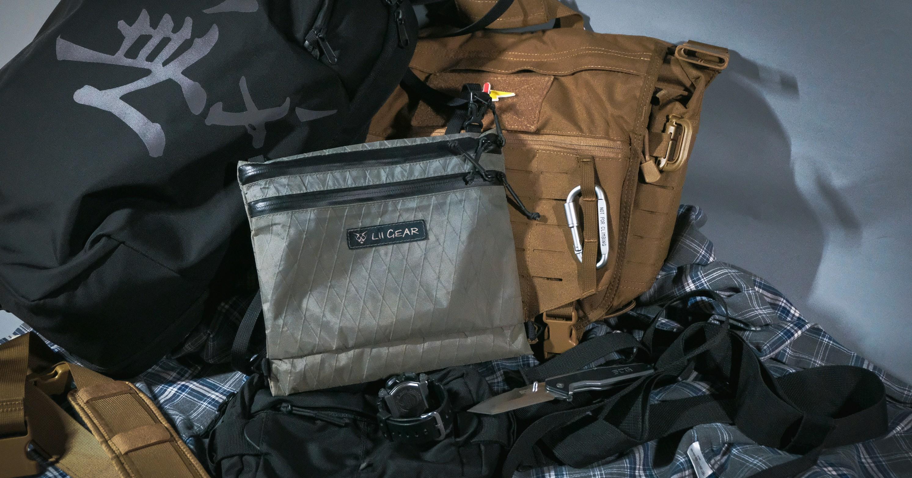 潮流战术也能完美融合? 超高颜值的Lii Gear MUSSTTE BAG X  X-pac挎包测评
