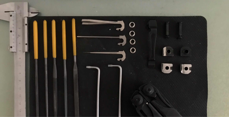 海啸再升级-leatherman surge小工具三件套安装指南