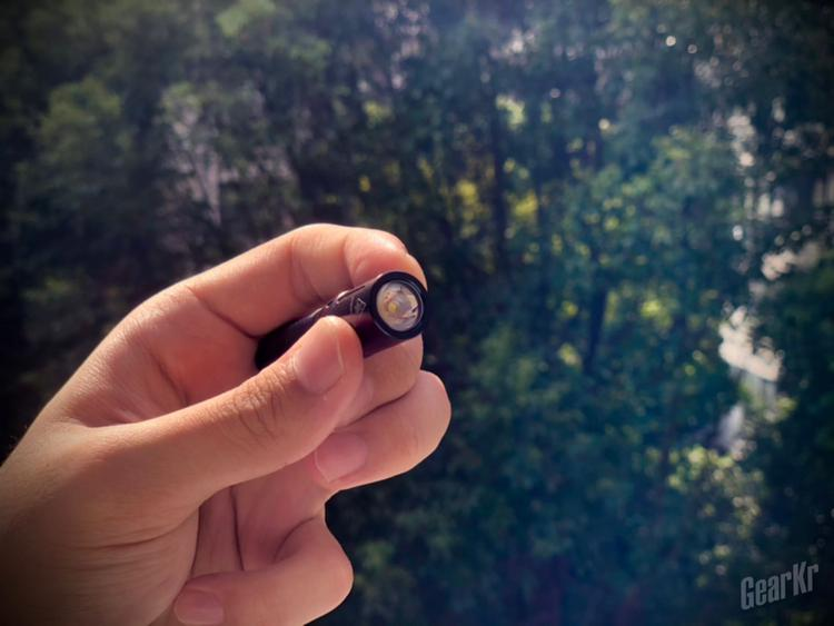最小不代表简陋——fenix E01 V2.0迷你钥匙扣手电
